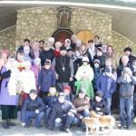 Радостное паломничество в Неделю Крестопоклонную
