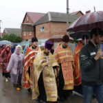 Первые шаги Пасхального Крестного хода в Новокубанском благочинии