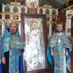 Икона Божией матери «Геронтисса» прибыла в Новокубанск